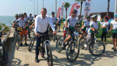 4. Adana Bisiklet Festivali Karataş'ta Yapıldı