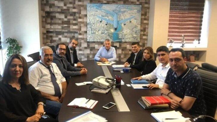 Büyükşehir Belediyesi'nde RESLOG toplantısı