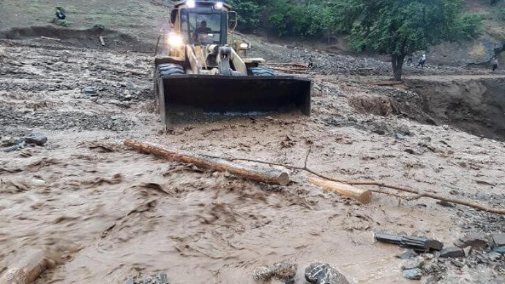ADANA Yağış, Feke'de hayatı olumsuz etkiledi