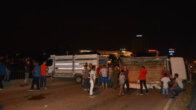 Girne Köprüsünde Kaza : 3 Yaralı