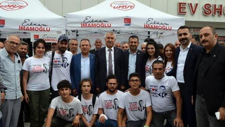 Karalar, İmamoğlu için İstanbul'da