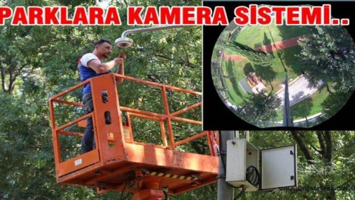 Parklara Kamera Kurulacak