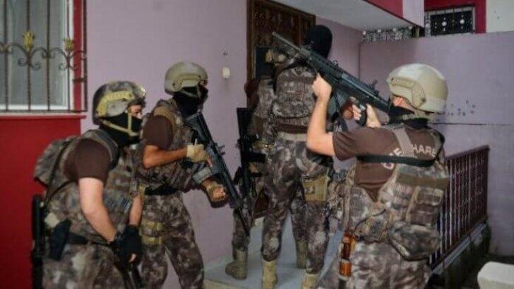 Uyuşturucu operasyonu: 58 gözaltı