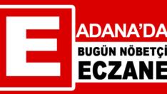 27.06.2019 Adana Nöbetçi Eczaneler
