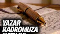 Köşe yazarı olmak ister misiniz? Gönüllü Yazar Kadromuza Katılın
