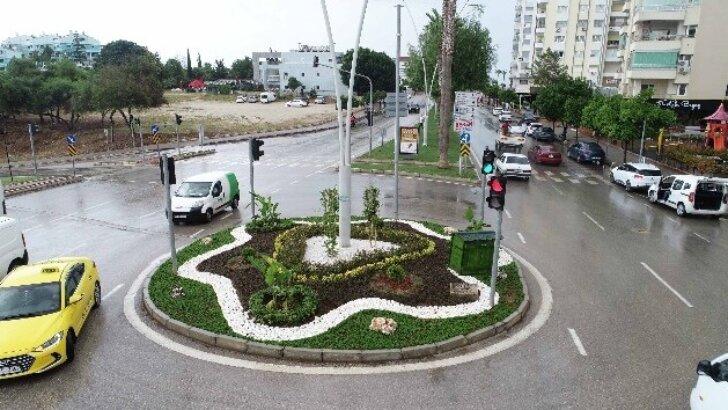 Adana'da peyzaj çalışması
