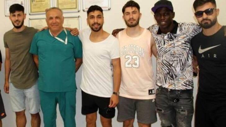 Adanasporlu futbolcular sağlık kontrolünden geçti