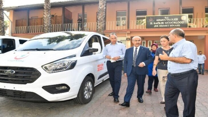 Adana'ya 3 aşı nakil aracı