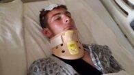 Asansör boşluğuna düşen genç ağır yaralandı