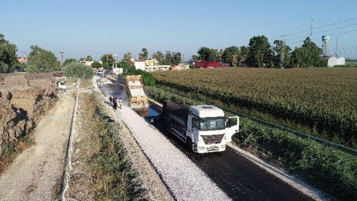 Başkan Zeydan Karalar, asfaltlama çalışmalarını inceledi