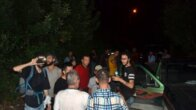 Dağda mahsur kalan 10 öğrenci kurtarıldı