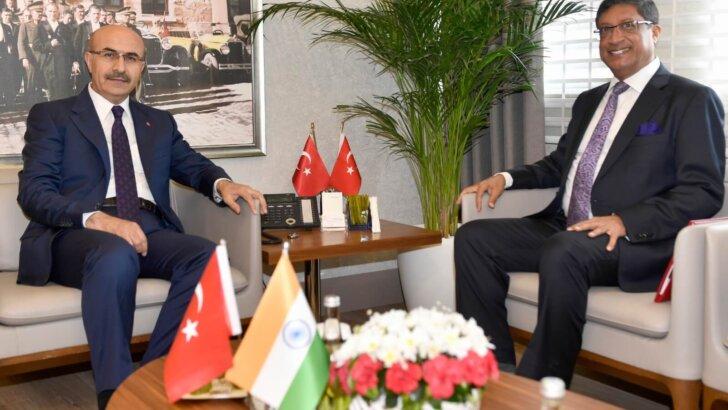 Hindistan Büyükelçisi Sanjay Bhattacharyya Adana'da