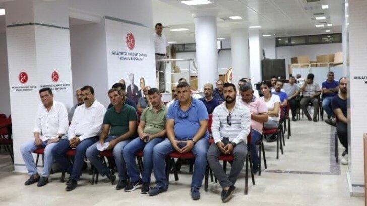 MHP'den Büyükşehir'de işten çıkarılanlara yol haritası