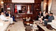 Singapur Büyükelçisi Adana'da