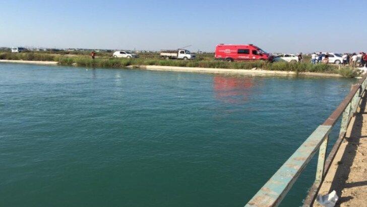 Sulama kanalına düşen topu almak için suya giren 2 çocuk kayıp