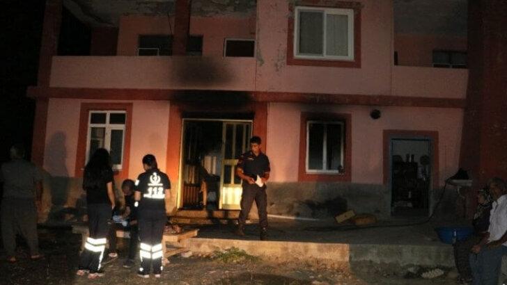 Yaşlı kadın evinde çıkan yangında hayatını kaybetti