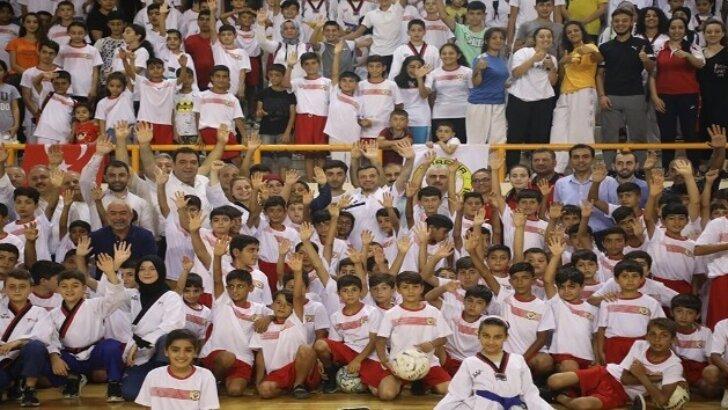 Yüreğir Belediyesi Yaz Spor Okuluna yoğun ilgi
