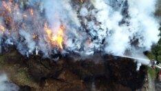 Adana'da yangın 32 saattir sönmedi