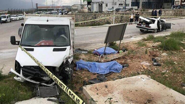 Adana'da Katliam gibi kaza!