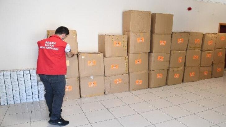 Malzeme Ofisinden Adana'ya 250 bin adet maske