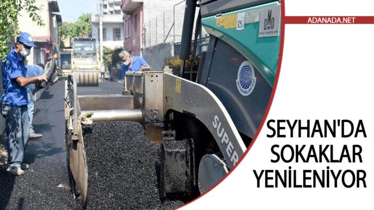 Seyhan'da Sokaklar Yenileniyor