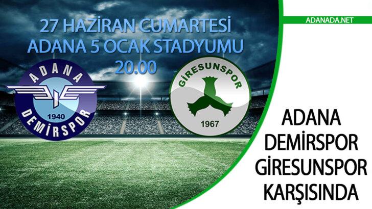 Adana Demirspor, Giresunspor Karşısında