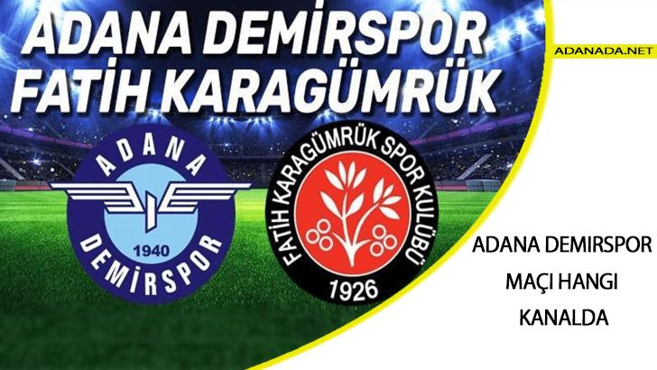 TFF 1. Lig Play-Off finali: Adana Demirspor Karagümrük maçı hangi kanalda ve şifresiz mi? Adana Demirspor Karagümrük final maçı ne zaman, saat kaçta?