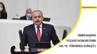 TBMM Başkanı Mustafa Şentop, Pozantı Kongresi'nin 100. Yılı Töreninde Konuştu