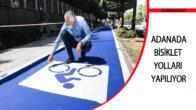 Bisiklet Yolları Yapılıyor