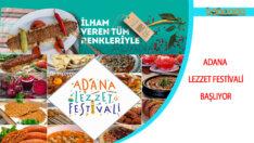 Adana Lezzet Festivali Başlıyor