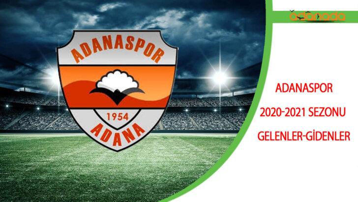 Adanaspor 2020-2021 Sezonu Gelenler-Gidenler