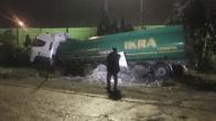 Ceyhan'da direksiyon başında kalp krizi geçiren sürücü, kazada öldü