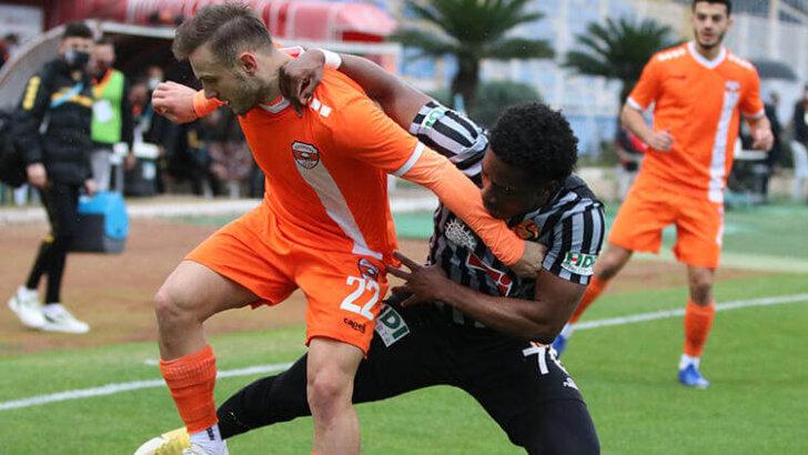 Adanaspor'dan farklı veda! 7 gol…