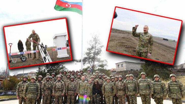 Aliyev Fuzuli-Şuşa karayolunun temelini attı