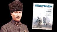 Amerikan askeri dergiden Atatürk'e övgü