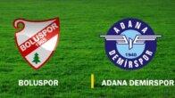 Beypiliç Boluspor-Adana Demirspor maçının ardından