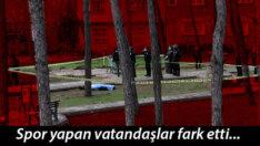Çocuk parkında korkunç olay…