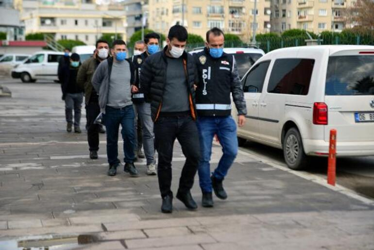 Adana merkezli 10 ilde operasyon Değeri 1,5 milyon TL