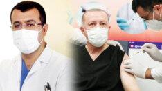 Sosyal medya onu konuştu… İşte Erdoğan'a aşı yapan doktor