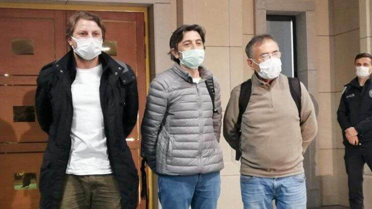 Türk denizciler İstanbul'a geldi