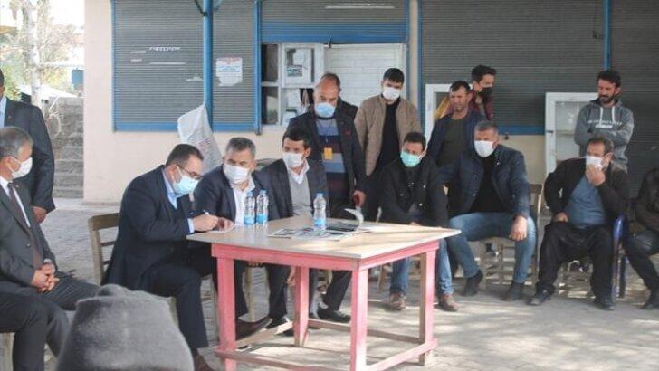 AK Parti Adana Milletvekili Abdullah Doğru, Yumurtalık ilçesinde vatandaşlarla buluştu