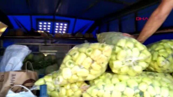 Adana'da TIR'ın içine gizlenmiş 46 kilo 250 gram esrarı 'Uzi' buldu
