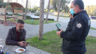 Adana'da maske takmayan kişiye para cezası