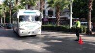 Adana'da maske ve toplu taşıma araçları denetlendi
