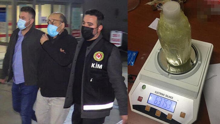 Çin'den kargoyla Adana'ya gönderilen pakette 'Gamma-Bütirolaktan' cinsi uyuşturucu ele geçirildi