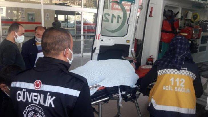 Kozan'da elektrik akımına kapılan işçi hastaneye kaldırıldı