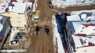 Tufanbeyli'de kar temizleme çalışmaları sürüyor