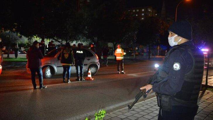 Adana'da 2 bin polis ile drone destekli asayiş uygulaması