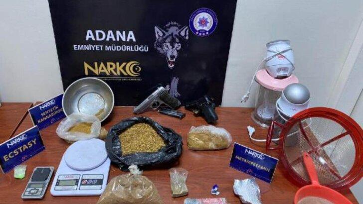 Adana'daki 'torbacı' operasyonlarına 112 tutuklama