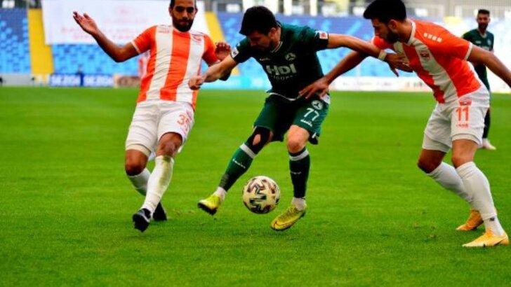 Adanaspor 0 – Giresunspor 4